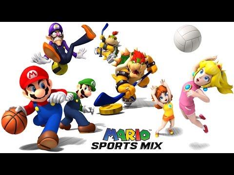 Mario Sports Mix: Coletânea de Esportes - Vôlei & Party gameplay