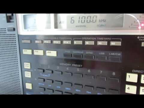 6100 kHz Radio Serbia Int. still on air, 03/07/2015