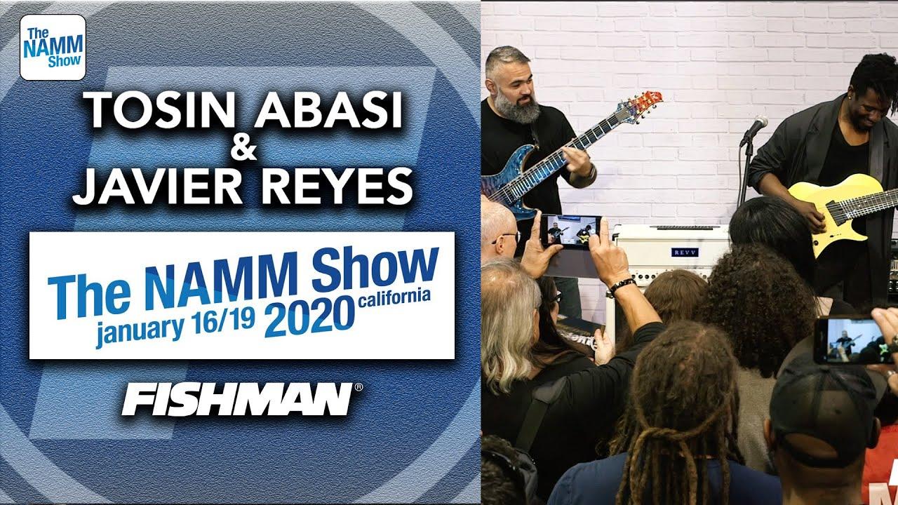 Tosin Abasi & Javier Reyes (Animals As Leaders) - 「NAMM Show 2020」から約20分のライブ映像を公開 thm Music info Clip