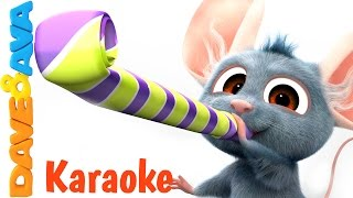 12345 Once I Caught a Fish Alive - Karaoke! | Nursery Rhymes Collection from Dave and Ava Baby Songs