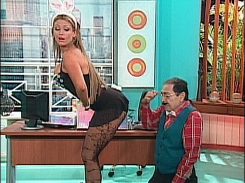 A Que Te Ríes — Navarrete y su secretaria Sabrina