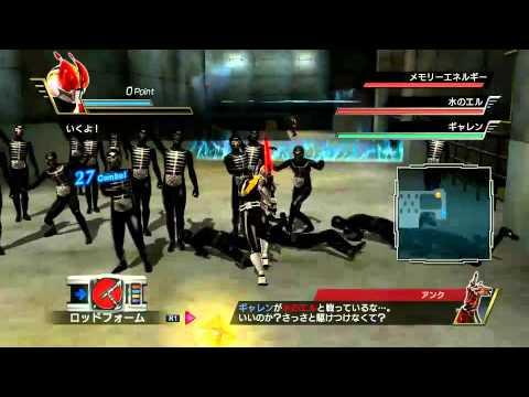 Kamen Rider Battride War(ps3) - Deno 2 video