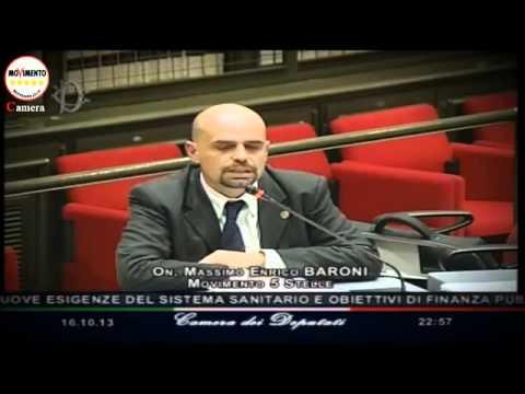 16/10/13 – M5S: Massimo Enrico Baroni – Commissioni riunite Bilancio e Affari sociali