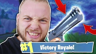 HAND CANNON ONLY CHALLENGE!! - FORTNITE BATTLE ROYALE!!