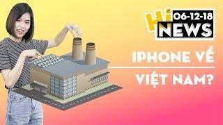 iPhone về Việt Nam?, Samsung 5G tai thỏ I Hinews