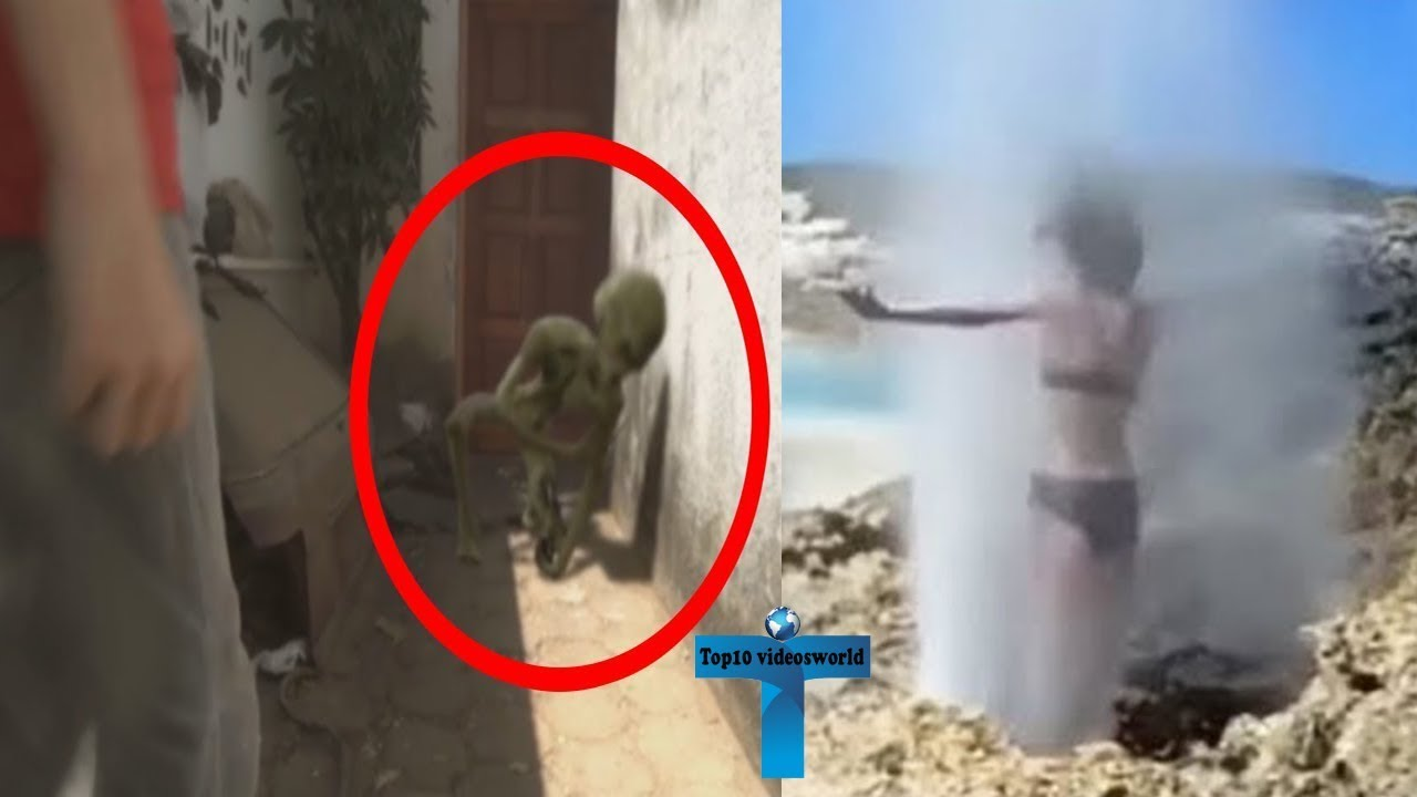 Top 10 Mysterious Videos You Never Seen Before Accidentally Caught On Camera