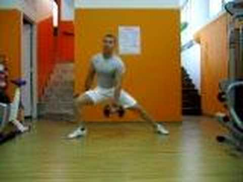 Lunge Side Dumbbell - StudioMiletto.com