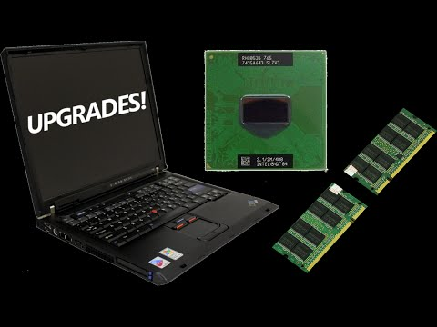 IBM Thinkpad T42 CPU & RAM Upgrades: Worth It?