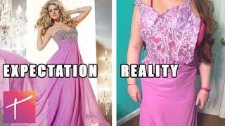 15 Prom Dress Online Shopping Fails