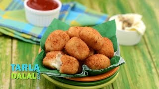 Cheese Poppers by Tarla Dalal