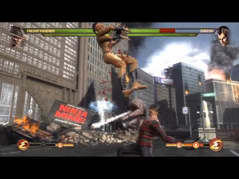 Mortal Kombat 9 - Baraka and Freddy Krueger (Tag Ladder) [Expert] No Matches/Rounds Lost
