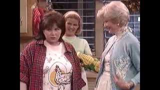 Pat Crowley 'Joan Nash' and TV Moms Billingsley, Lockhart, Sanford and Mills on Roseanne