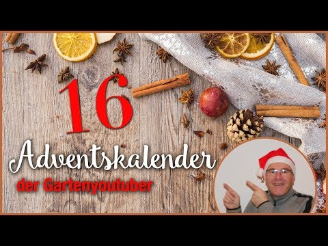#16 Adventskalender der Gartenyoutuber 2018 / #ADGYT2018