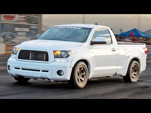 The FUNDRA - TRD Supercharged Toyota TUNDRA!
