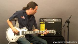Line 6 Spider Jam Amplifier Demo - The Perfect Guitar