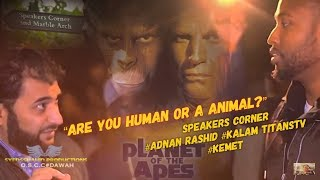 Video: Black Kemet were not the first 'Homo sapien' humans - Adnan Rashid vs Kemet Kalam