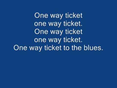 Eruption  One way ticket lyrics