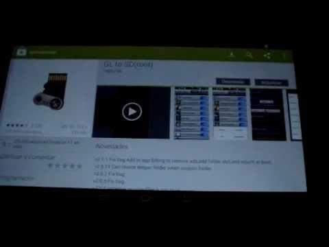 Mover Aplicaciones y Juegos a la SD Samsung Galaxy Tab 2