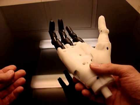 InMoov prosthetic Hand 3D print