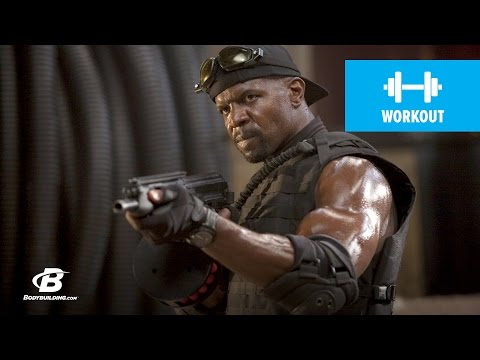 Terry Crews Expendables Training - Bodybuilding.com