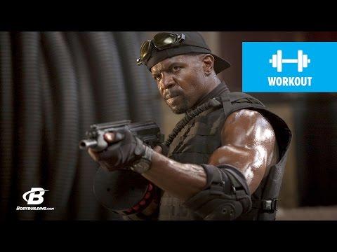Terry Crews Expendables Training - Bodybuilding.com