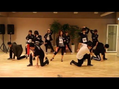T-ara(티아라)   Cry Cry Choreography (cry Cry 안무과정공개) video