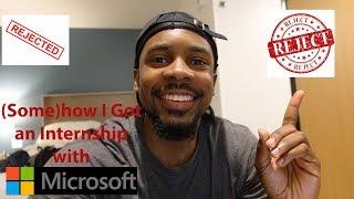 How did I Land an Internship with Microsoft?