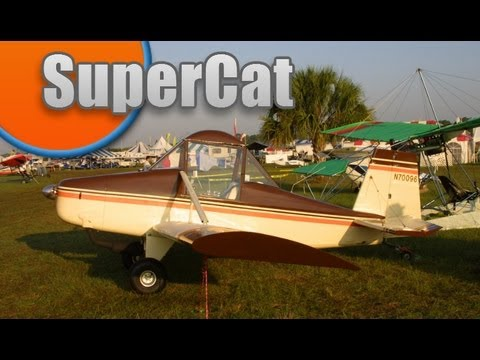 SuperCat, Bob Baker's Super Cat / BobCat experimental amateurbuilt all wood single seat aircraft.