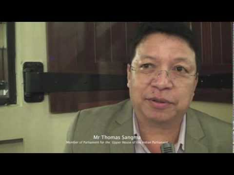 Interview with Mr Tomas Sangma, Member of Parliament for the Upper House of the Indian Parliament