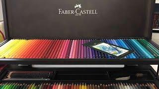 Insane Art Haul / Birthday Haul: Faber Castell 120 Wooden Box Set