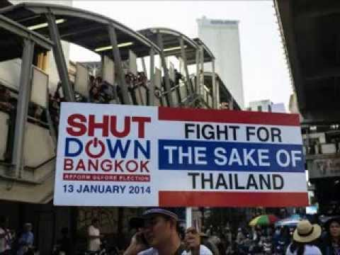 กำนันสุเทพ    Thailand Protest Song Bangkok Shutdown Red and Yellow