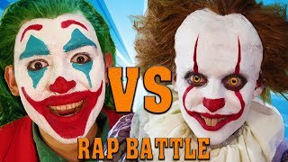 Pennywise Vs The Joker Rap Battle