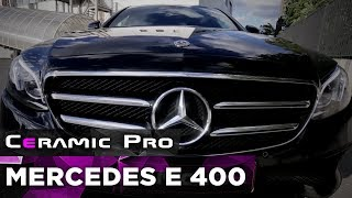 Mercedes E 400 защищен в центре Ceramic Pro Ural