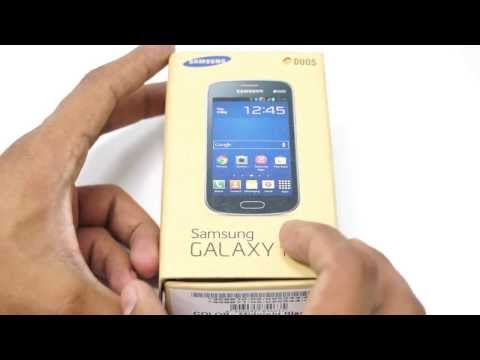 Samsung Galaxy Trend GT-S7392 Dual-SIM Android Phone Unboxing
