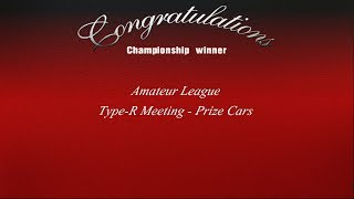 Gran Turismo 3 - Amateur League - Type-R Meeting Prize Cars