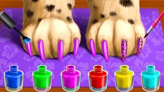 Play Jungle Animal Hair Salon Fun Kids Games - Wild Pets Haircut & Style Makeover By TutoTOONS