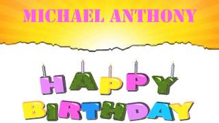 Michael Anthony   Wishes & Mensajes - Happy Birthday