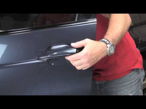 Repairing door handles on a BMW X5 2000 thru 2006