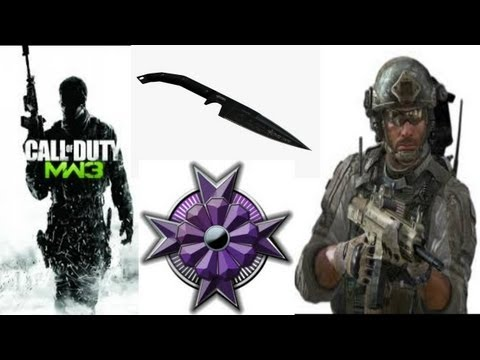 Modern Warfare 3: Crossmap Throwing Knife Kill