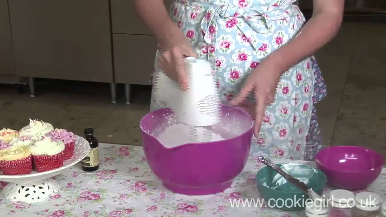 how to make white frosting