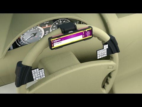 Help fund new smartphone accessory for car with safer texting and gps and get discount