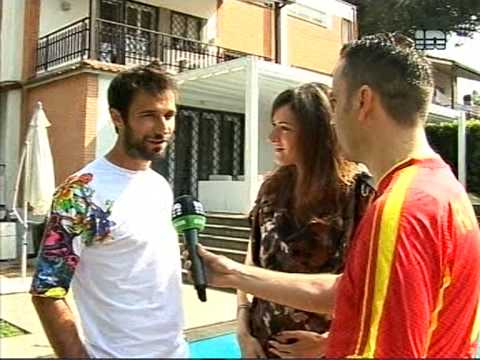Reportaza TV IN iz Rima: MIRKO VUCINIC [part 3/3]