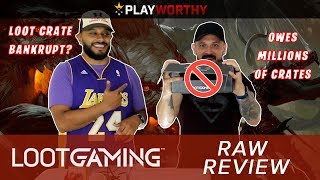 Loot Gaming Raw Review | Loot Crate Bankruptcy Owes Crates