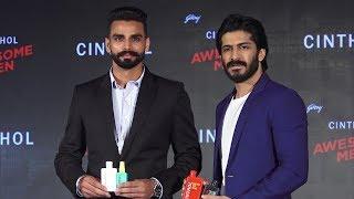 Harshvardhan Kapoor And Gold Medalist Arpinder Singh Launch Godrej Cinthol New Men