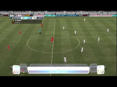 FIFA 12 LEEDS UNITED CAREER MODE S2 EP51 v LOKOMOTIV MOSCOW (manual & legendary)