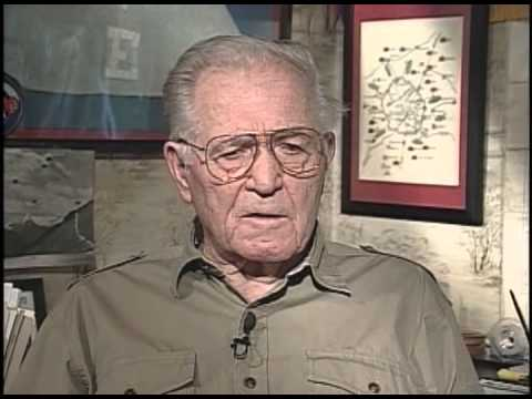 Rep. John Payne reflects on World War II with Maj. Dick Winters.