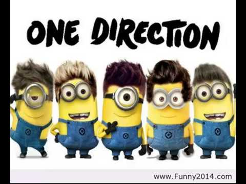 One Direction - Kiss You Minions video