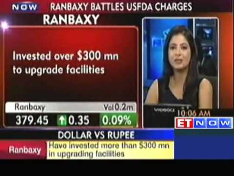 No Probe Initiated in India Ranbaxy On USFDA Charges