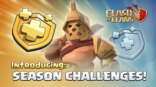 Season Challenges NEW UPDATE! (Clash of Clans Developer Update)