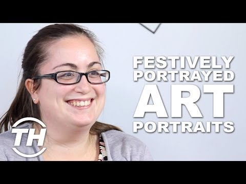 Festive Art Portraits - Angela Show Us Her Favourite Art Series